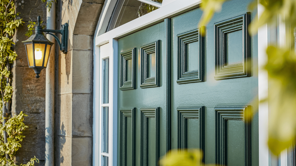 External traditional and classic doors