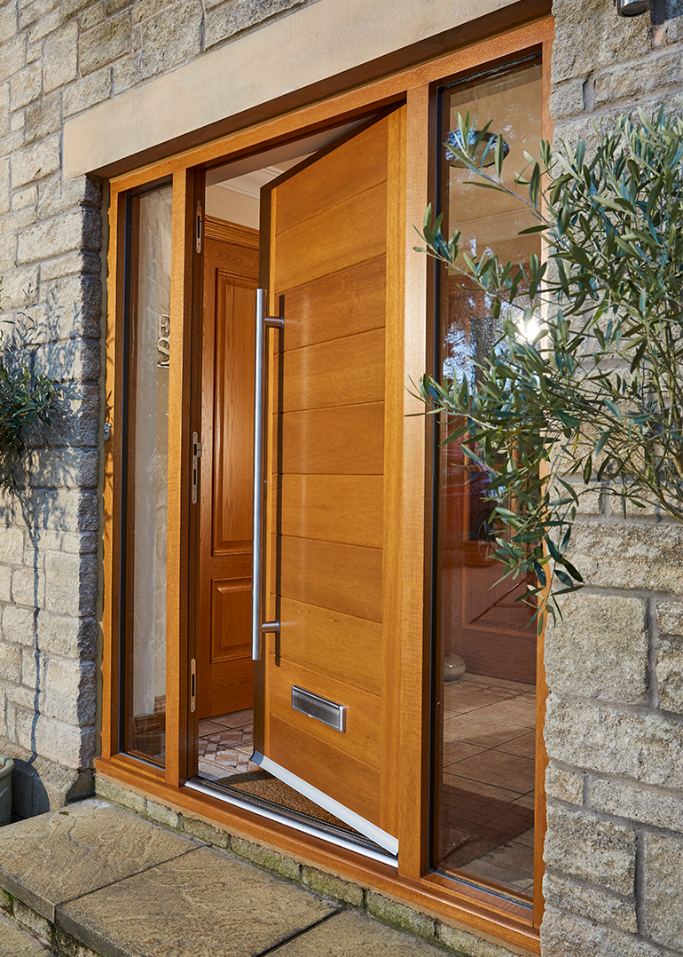 Modern contemporary doors