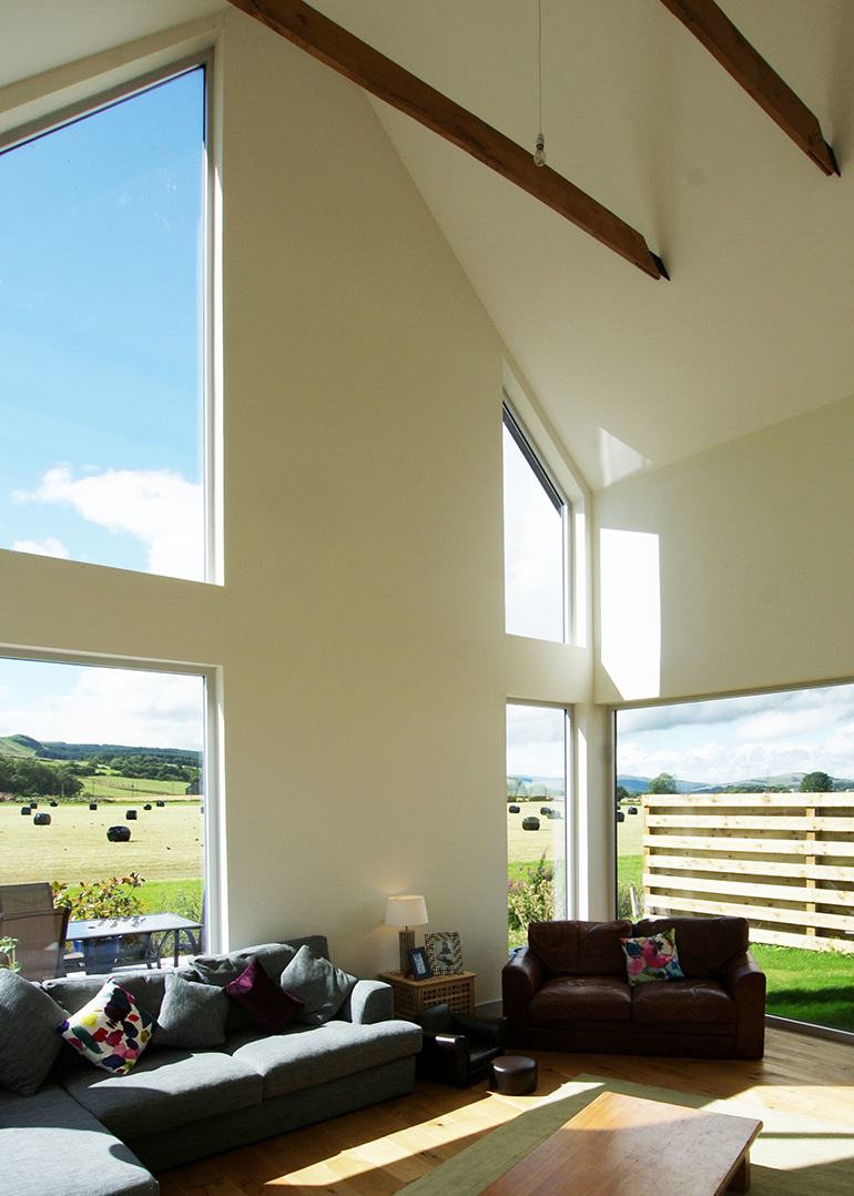 Bespoke frameless windows